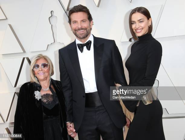 Gloria Campano Bradley Cooper and Irina Shayk attend the 91st Annual Academy Awards at Hollywood and Highland on February 24 2019 in Hollywood...