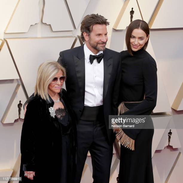 Gloria Campano Bradley Cooper and Irina Shayk attends the 91st Annual Academy Awards at Hollywood and Highland on February 24 2019 in Hollywood...