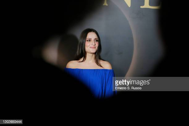 Gloria Carovana attends the Netflix's Luna Nera Premiere Party on January 28 2020 in Rome Italy