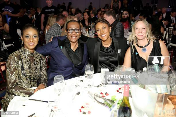 Gloria Carter and Robin Roberts celebrate achievements in the LGBTQ community at the 29th Annual GLAAD Media Awards New York in partnership with...