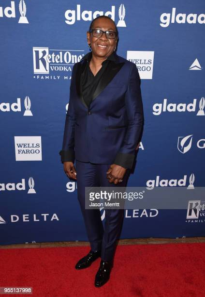 Gloria Carter attends the 29th Annual GLAAD Media Awards at The Hilton Midtown on May 5 2018 in New York City