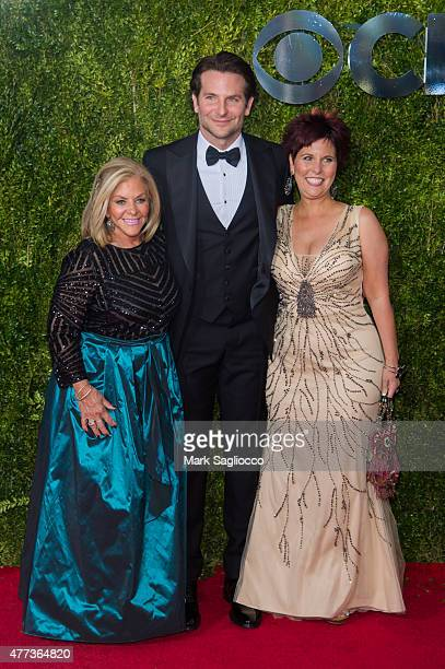 Gloria Cooper and Actor Bradley Cooper attend the American Theatre Wing's 69th Annual Tony Awards at Radio City Music Hall on June 7 2015 in New York...