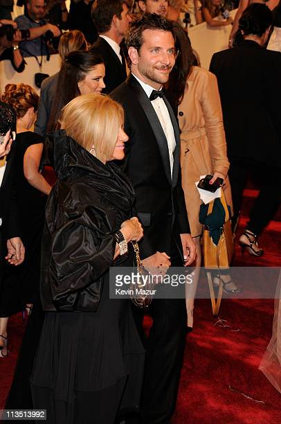 Gloria Cooper and Bradley Cooper attends the Alexander McQueen Savage Beauty Costume Institute Gala at The Metropolitan Museum of Art on May 2 2011...