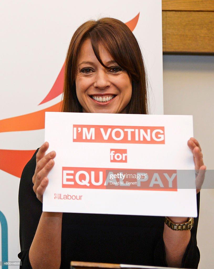Grazia Celebrates Landmark Parliamentary Vote On Equal Pay : Foto jornalística