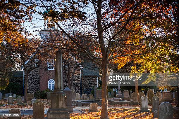 gloria dei old swedes episcopal church - wilmington delaware stock pictures, royalty-free photos & images