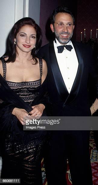 Gloria Estefan and husband Emilio Estefan circa 1993 in New York City