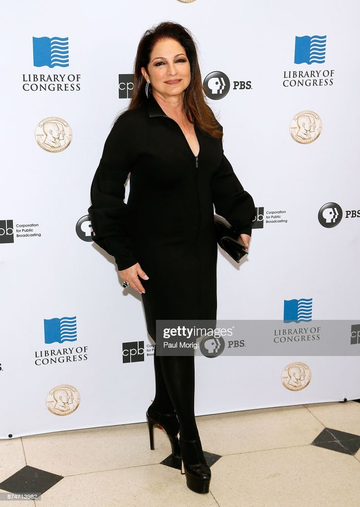 Gloria Estefan arrives at the Gershwin Prize Honoree's Tribute Concert at DAR Constitution Hall on November 15, 2017 in Washington, DC.