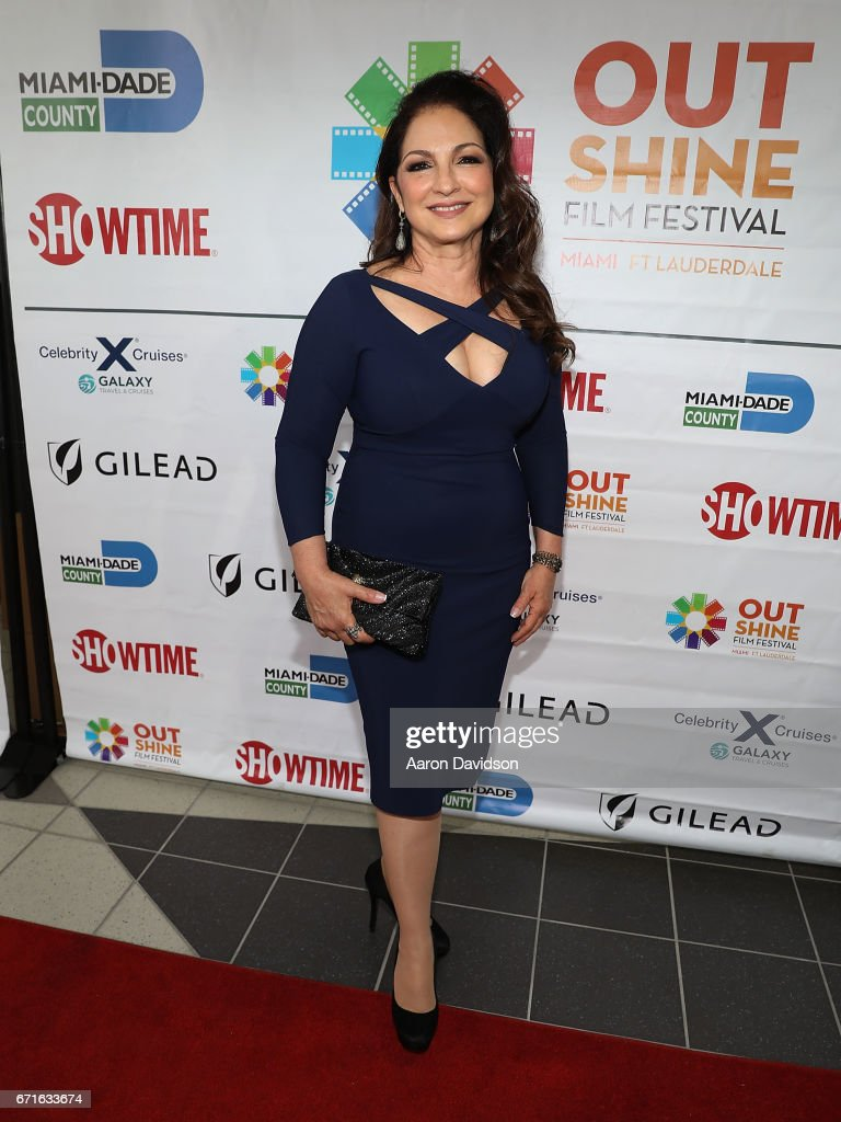 Gloria Estefan attends 'A Change of Heart' screening at Regal Cinemas South Beach Stadium 18 on April 22, 2017 in Miami, Florida.