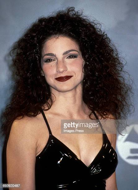 Gloria Estefan attends the 33rd Annual Grammy Awards circa 1991 in New York City