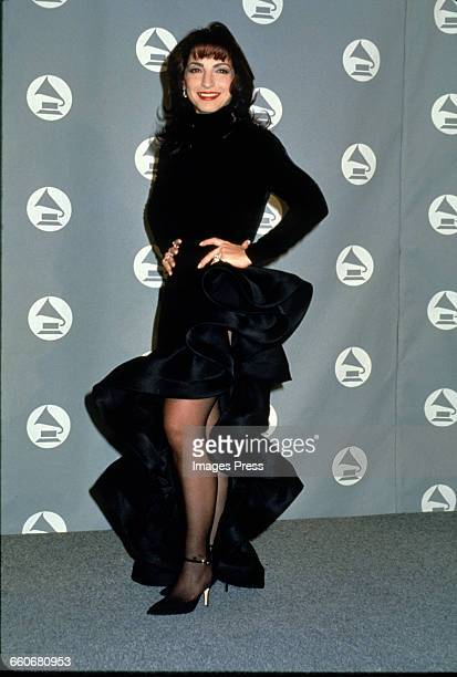 Gloria Estefan attends the 36th Annual Grammy Awards held at Radio City Music Hall circa 1994 in New York City