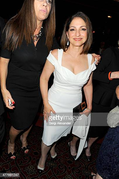 Gloria Estefan attends the 'An Unbreakable Bond' premiere during the Miami International Film Festival 2014 at Gusman Center for the Performing Arts...
