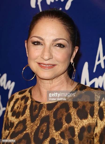 Gloria Estefan attends the Broadway Opening Night Performance of 'An American in Paris' at The Palace Theatre on April 12 2015 in New York City