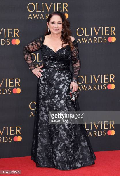 Gloria Estefan attends The Olivier Awards 2019 with MasterCard at Royal Albert Hall on April 07 2019 in London England