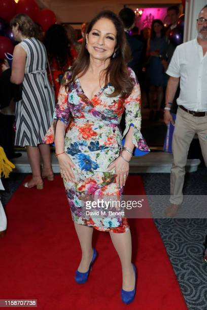 Gloria Estefan attends the press night after party for On Your Feet at The Savoy Hotel on June 27 2019 in London England