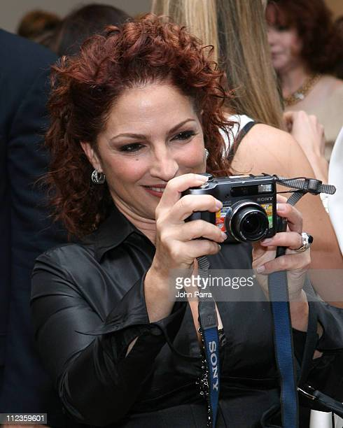 Gloria Estefan during Mayda Cisneros Couture Collection Grand Opening at The Collection Building in Coral Gables, Florida, United States.