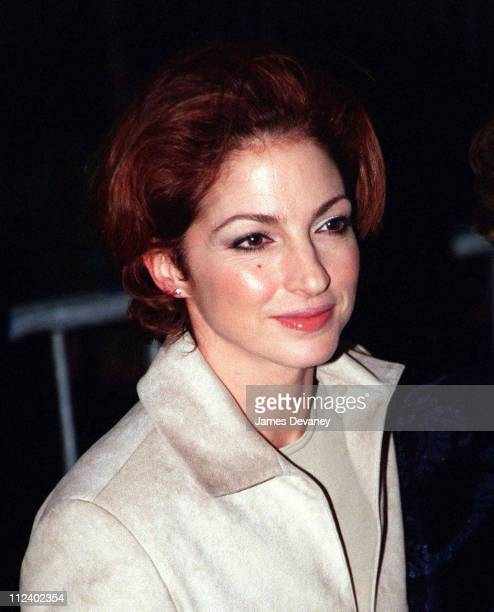 Gloria Estefan during Music of the Heart Premiere at Ziegfield Theatre in New York City New York United States
