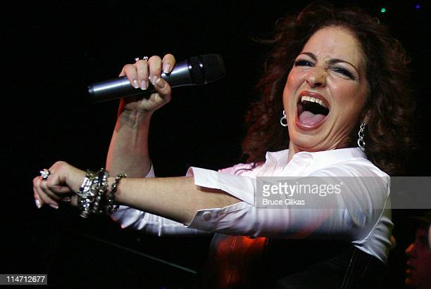 Gloria Estefan during Rosie O'Donnell and Gloria Estefan on Norwegian Jewel Cruise Ship in the Caribbean February 20 2007 at Norwegian Jewel Cruise...