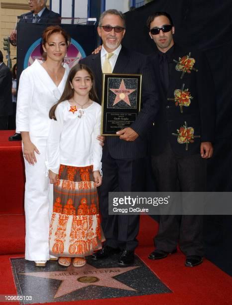 Gloria Estefan Emily Marie Estefan Emilio Estefan and Nayib Estefan
