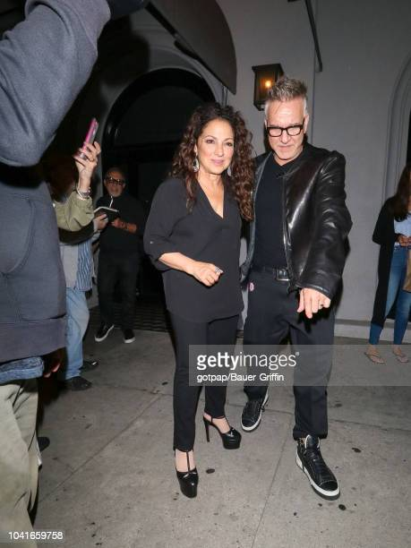 Gloria Estefan is seen on September 26 2018 in Los Angeles California