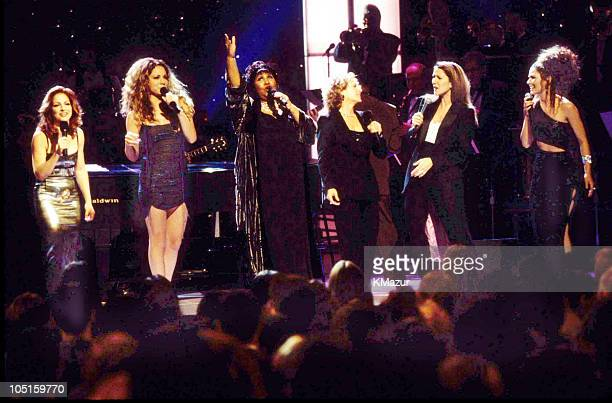 Gloria Estefan Mariah Carey Aretha Franklin Carole King Celine Dion and Shania Twain
