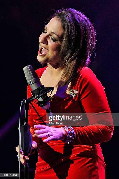 Gloria Estefan performs at Royal Albert Hall on October 17 2013 in London England