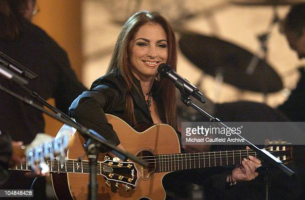 Gloria Estefan performs at Women Rock Girls and Guitars airing on the Lifetime Television Network October 25th 2002 at 10 pm