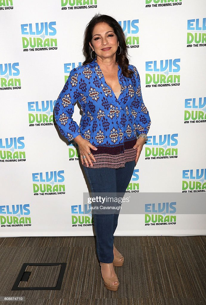Gloria Estefan visits Z100 Studio on September 13, 2016 in New York City.