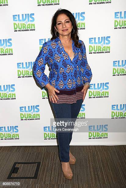 Gloria Estefan visits Z100 Studio on September 13 2016 in New York City