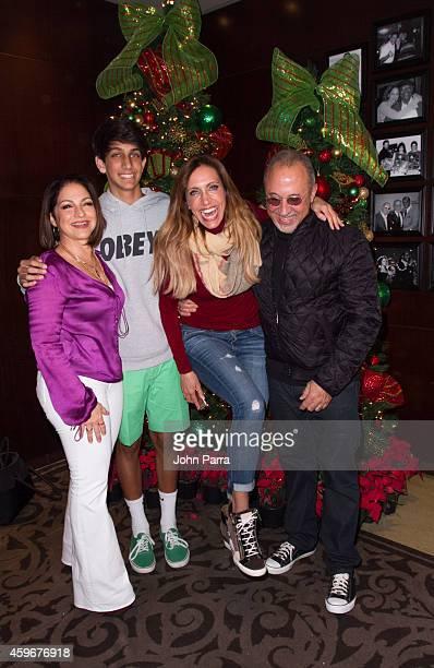 Gloria EstefanLorenzo Luaces JrLili Estefan and Emilio Estefan host The 7th Annual Thanksgiving Feed a Friend at Bongos Cuban Cafe At Seminole Hard...