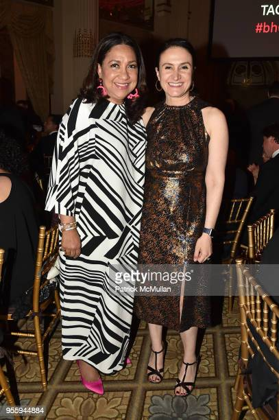 Gloria Fieldcape and Michelle CarusoCabrera attend the Ballet Hispanico 2018 Carnaval Gala at The Plaza Hotel on May 7 2018 in New York City