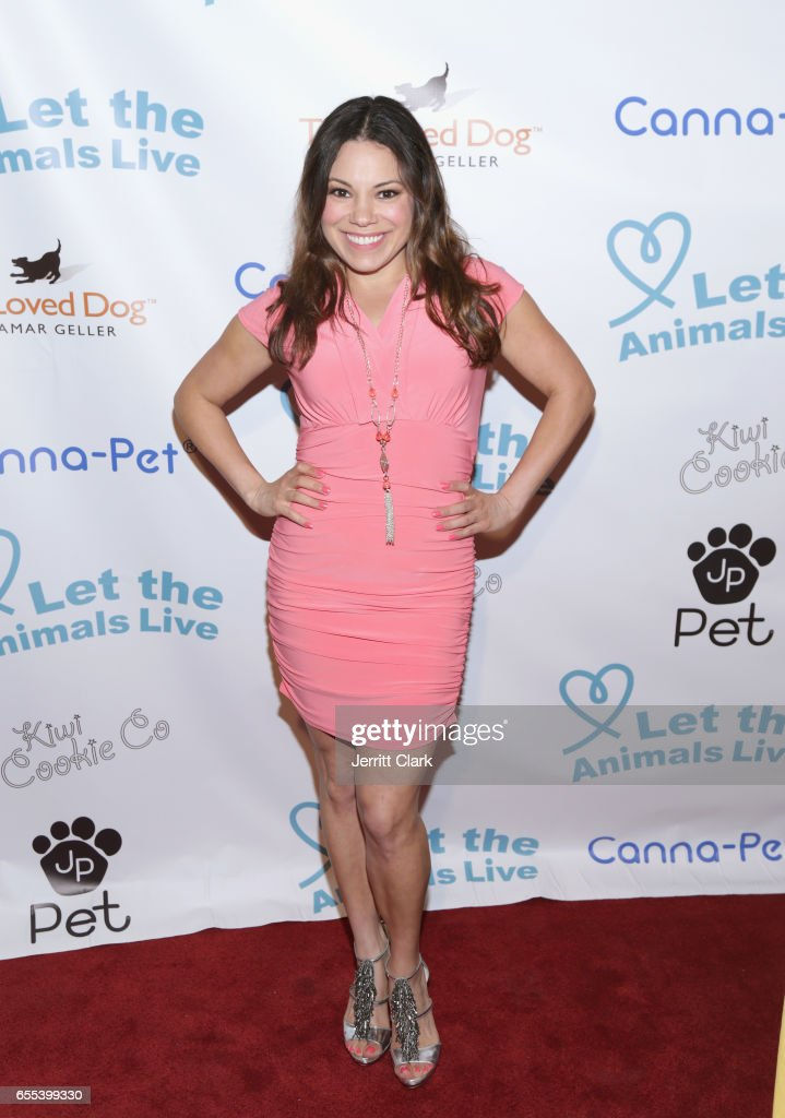 Gloria Garayna attends the Let The Animals Live Gala at The Olympic Collection Banquet & Conference Center on March 19, 2017 in Los Angeles, California.