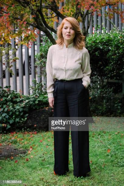 Gloria Giorgianni Producer attends FilmTV 'Storia Di Nilde' Photocall in Rome Italy on 3 December 2019 Story of Nilde Nilde Iotti director of the...