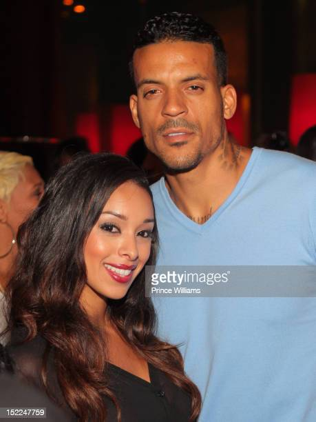 Gloria Govan and Matt Barnes attends Gloria Govan and Matt Barnes celebrate An Evening at Vanquish Nightclub at Vanquish on September 13 2012 in...