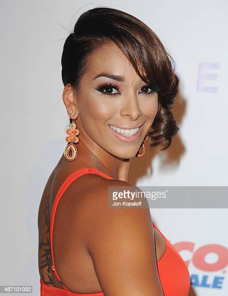 Gloria Govan arrives at the Children's Hospital Los Angeles Gala Noche de Ninos at L.A. Live Event Deck on October 11, 2014 in Los Angeles,...