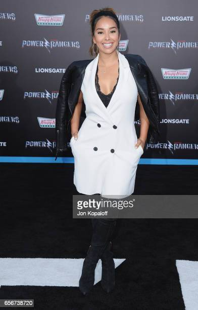 Gloria Govan arrives at the Los Angeles Premiere 'Power Rangers' at the Westwood Village Theater on March 22 2017 in Westwood California