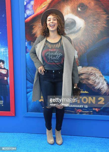 Gloria Govan arrives for the premiere of Warner Bros Pictures' 'Paddington 2' held at Regency Village Theatre on January 6 2018 in Westwood California