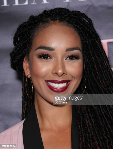 Gloria Govan attends Regard Magazine 2018 NBA AllStar PreParty hosted by Derek Fisher at Soho House on February 15 2018 in West Hollywood California