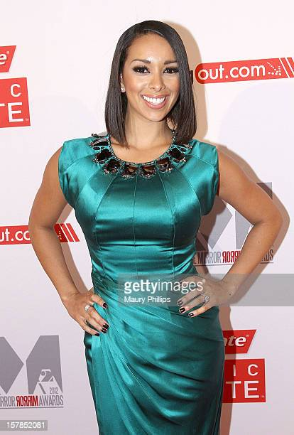 Gloria Govan attends Rolling Out Mirror Mirror Awards at Rolling Stone Restaurant Lounge on December 6 2012 in Los Angeles California