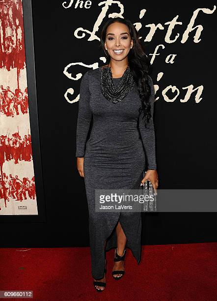 Gloria Govan attends the premiere of 'The Birth of a Nation' at ArcLight Cinemas Cinerama Dome on September 21 2016 in Hollywood California