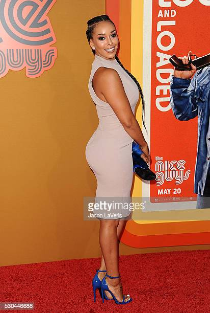 Gloria Govan attends the premiere of 'The Nice Guys' at TCL Chinese Theatre on May 10 2016 in Hollywood California