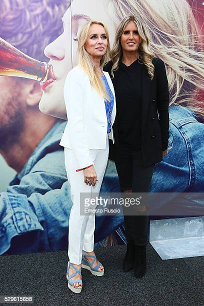 Gloria Guida and Tiziana Rocca attend the CocaCola anniversary party at Foro Italico on May 08 2016 in Rome