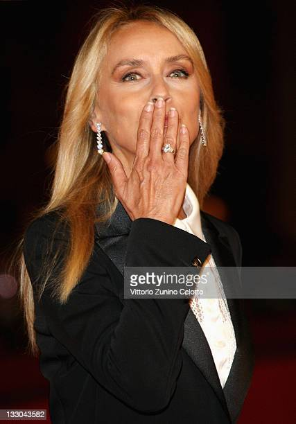 Gloria Guida attends Parlami Di Me premiere during the 3rd Rome International Film Festival held at the Auditorium Parco della Musica on October 24,...