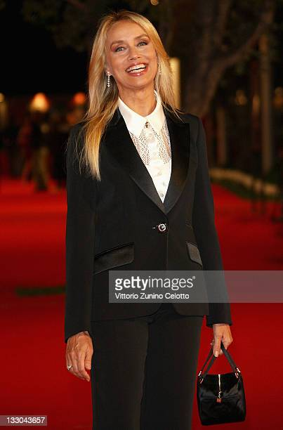 Gloria Guida attends Parlami Di Me premiere during the 3rd Rome International Film Festival held at the Auditorium Parco della Musica on October 24...