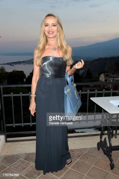 Gloria Guida attends Taormina Filmfest 2013 on June 17 2013 in Taormina Italy