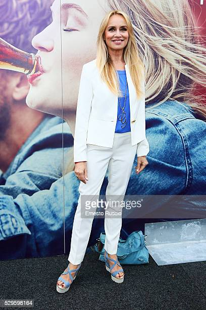 Gloria Guida attends the CocaCola anniversary party at Foro Italico on May 08 2016 in Rome