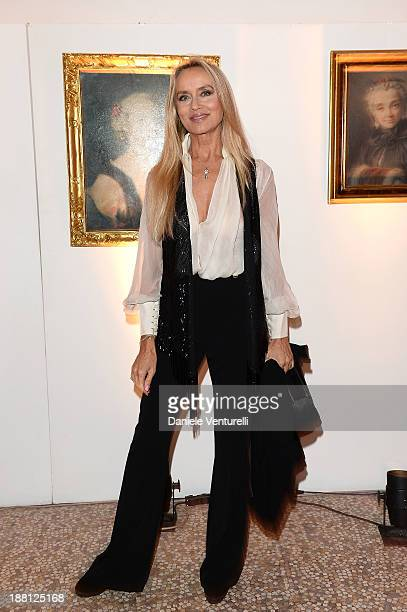 Gloria Guida attends the Gala Dinner for 'La Migliore Offerta' during The 8th Rome Film Festival on November 15, 2013 in Rome, Italy.