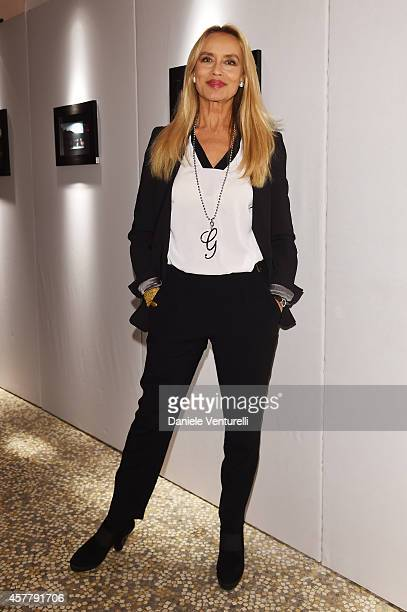 Gloria Guida attends the Gala Dinner 'La Grande Bellezza' during the 9th Rome Film Festival on October 24 2014 in Rome Italy