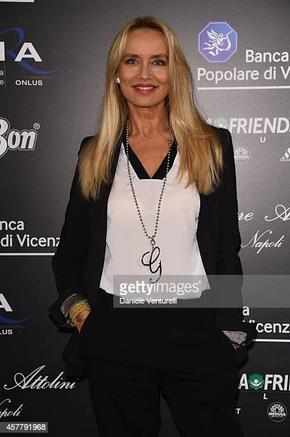 Gloria Guida attends the Gala Dinner 'La Grande Bellezza' during the 9th Rome Film Festival on October 24, 2014 in Rome, Italy.