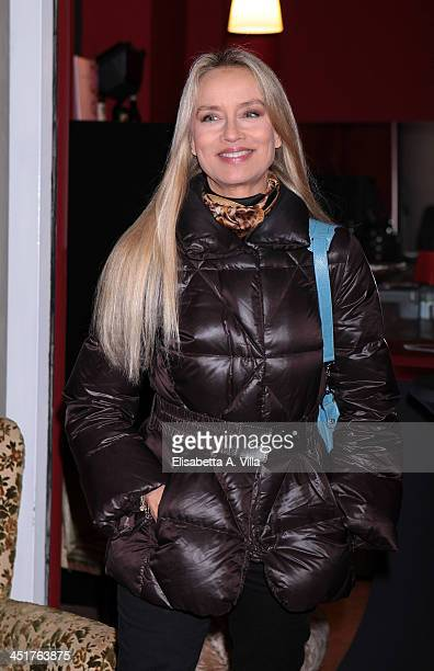 Gloria Guida attends the Ivana Chubbuck Acting Seminar at Teatro Ambra Jovinelli on November 24 2013 in Rome Italy