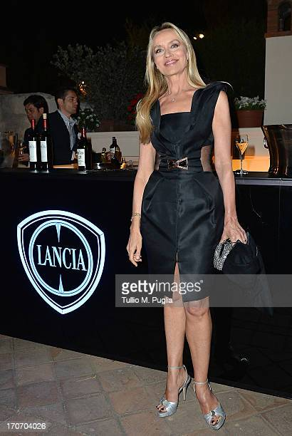 Gloria Guida attends the Lancia Cafe during the Taormina Filmfest 2013 on June 16, 2013 in Taormina, Italy.